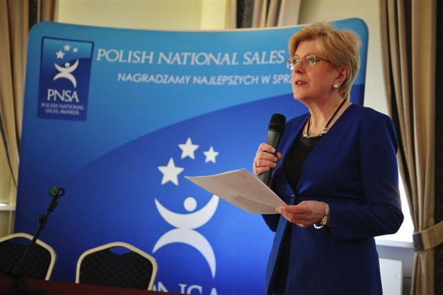 Elżbieta Pełka (Prezes Zarządu PNSA)
