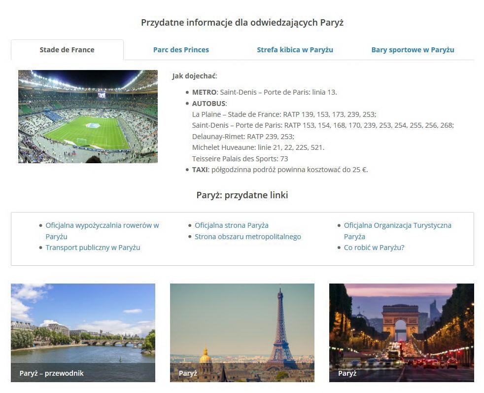 Przewodnik kibica UEFA EURO 2016_Paryż