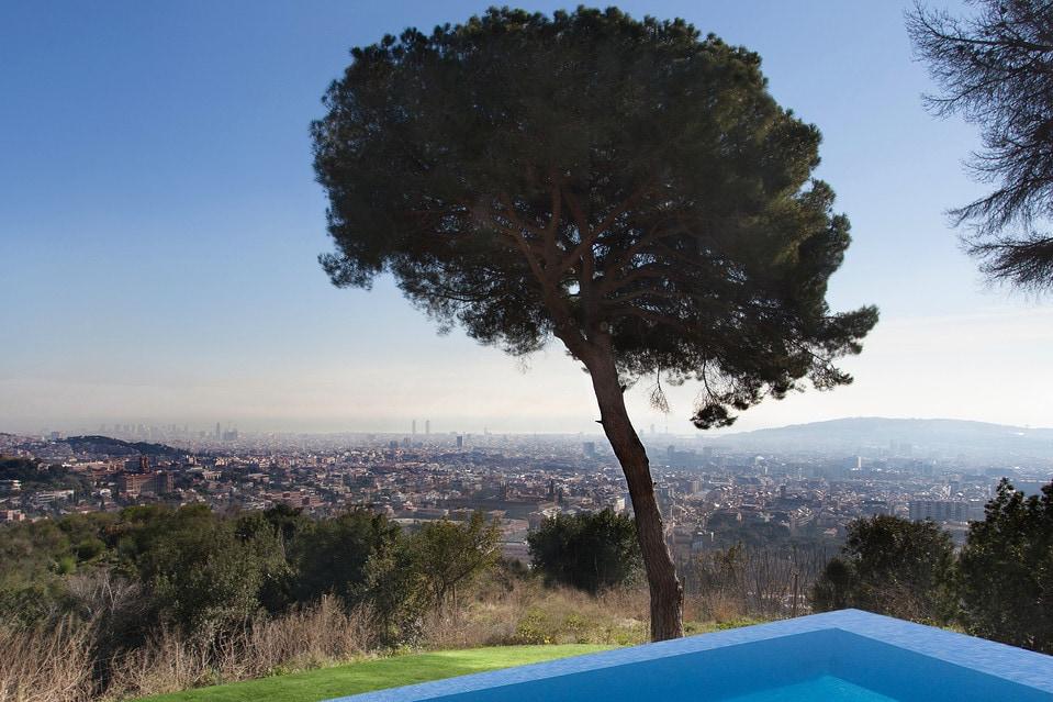 Willa w Barcelonie, Źródło Lucas Fox International Properties, WSJ
