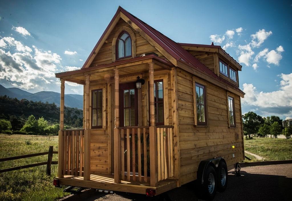 Projekt The Elm, mobilny dom o powierzchni 10,8 m kw., koszt około 35 tys. USD, źródło Tumbleweed