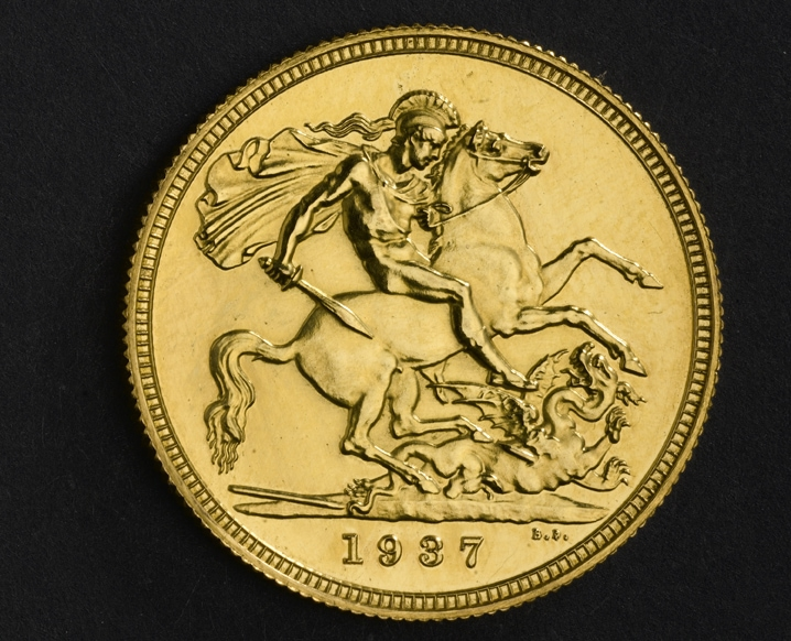 Edward VIII Sovereign 1937, źródło Royal Mint