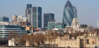 Londyn - widok na centrum