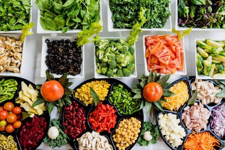 Koronawirus a żywność - żywność na stole