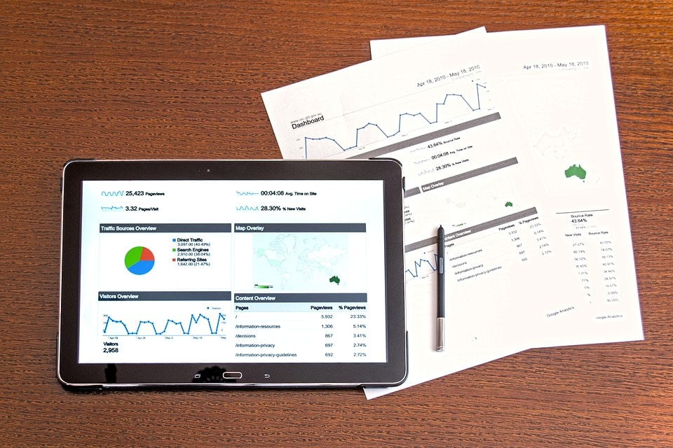 Polski Ład. Inwestycje mogą odpłynąć za granicę - na stole leżą tablet i dokumenty.
