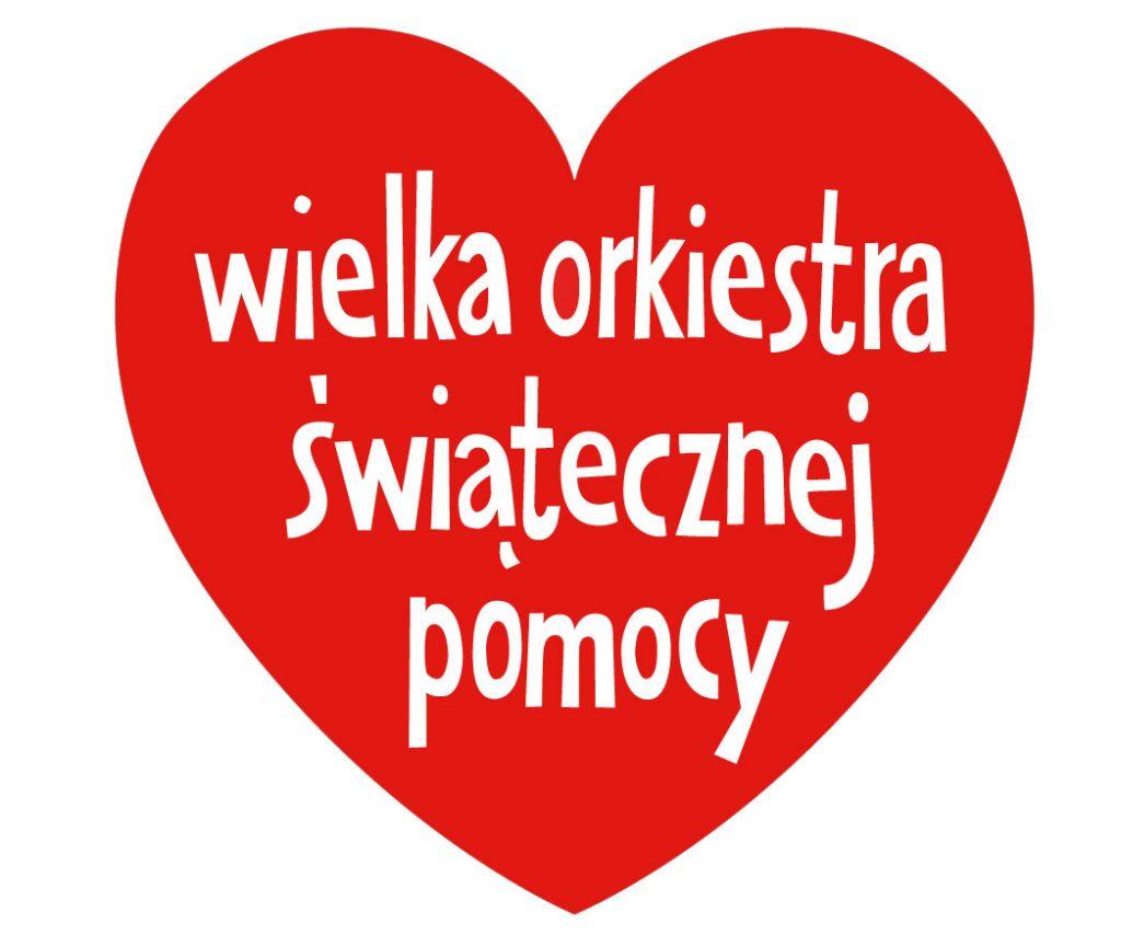 Charytatywna aktywność Polaków to nie tylko WOŚP - czerwone serce z napisem Wielka Orkiestra Świątecznej Pomocy