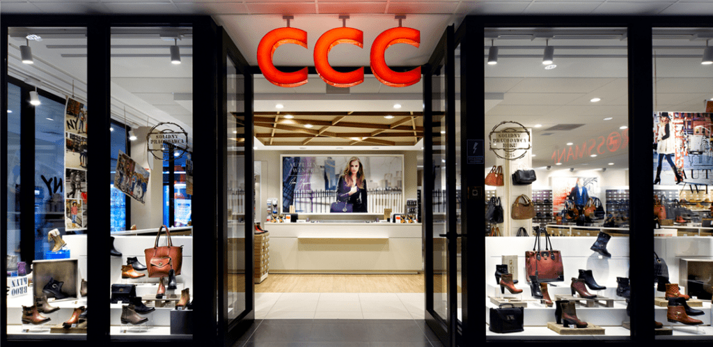 CCC zaprojektuje buty i akcesoria z pomocą drukarki 3D - witryna sklepu obuwniczego CCC