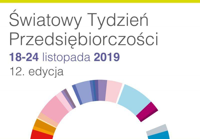 Znalezione obrazy dla zapytania światowy tydzien przedsiębiorczości 2019 logo