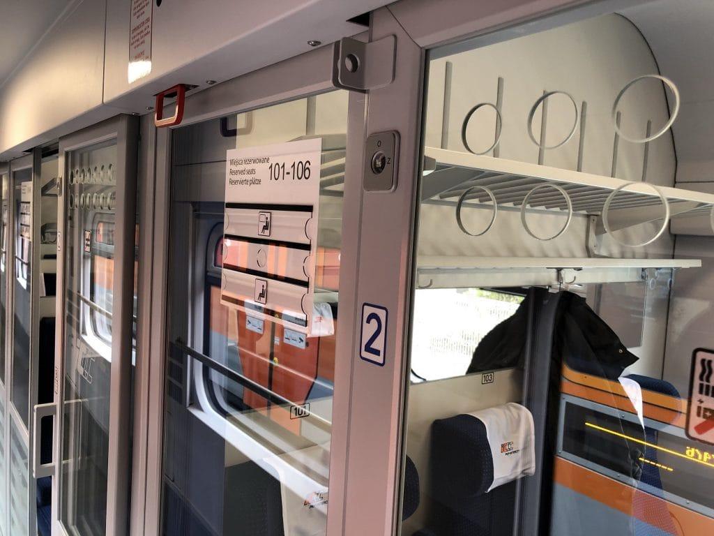 e-IC PKP Intercity bije rekordy - wagon pociągu