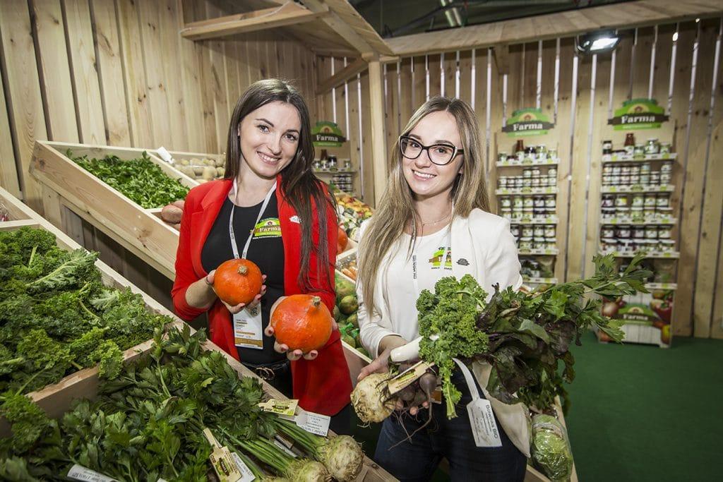 Media społecznościowe a dieta - zdjęcie stoiska Farmy Świętokrzyskiej