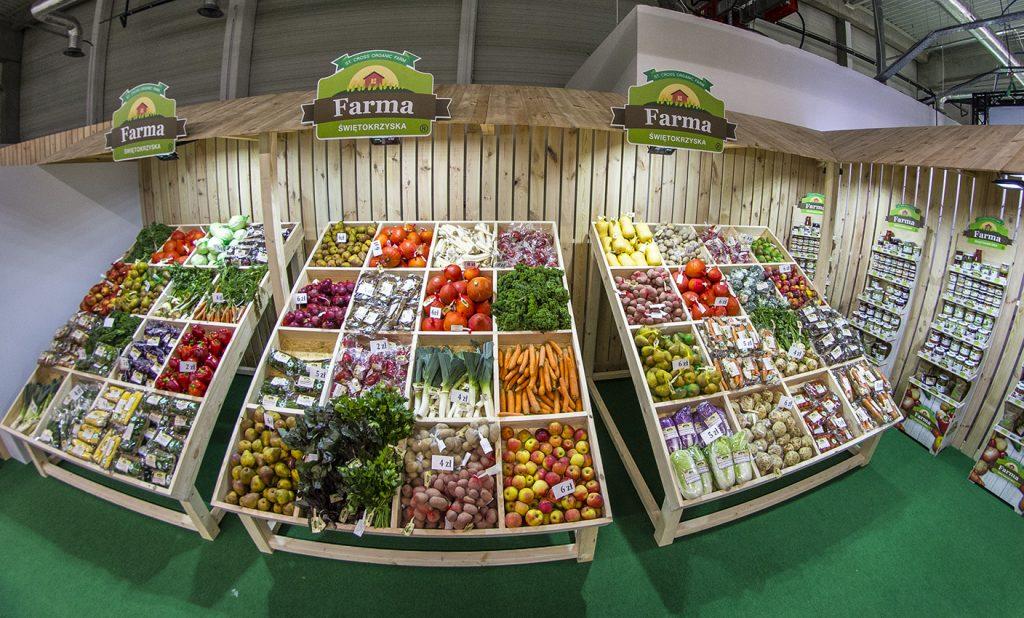 Media społecznościowe a dieta - zdjęcie stoiska Farmy Świętokrzyskiej Bio Expo