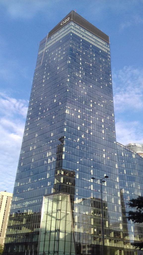 Koniec PZU Tower? Obok stoi Q22. Podobnej wyokości mógłby być nowy wieżowiec PZU