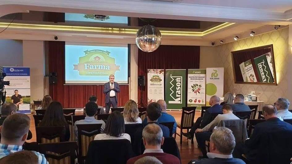Farma Świętokrzyska zorganizowała Ogólnopolską BIO Konferencję - zdjęcie z sali
