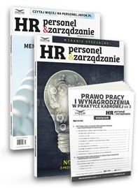 Hybrydowy styl pracy. Najważniejsze wyzwania modelu pracy przyszłości- 3 egzemplarze magazynu HR Personel i zarządzanie