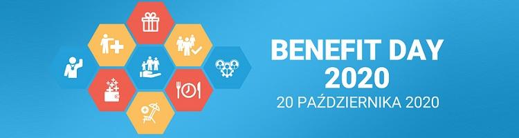 BENEFIT DAY 2020- świadczenia pozapłacowe na turbulentne czasy - logo wydarzenia