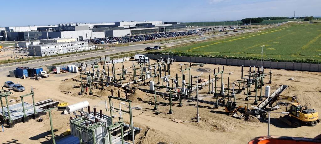 Pół miliarda na bezpieczeństwo energetyczne Dolnego Śląska -  teren budowy
