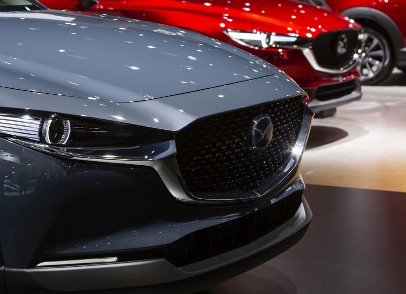 Mazda producentem najlepszych samochodów według Consumer Reports - przód auta, Mazda