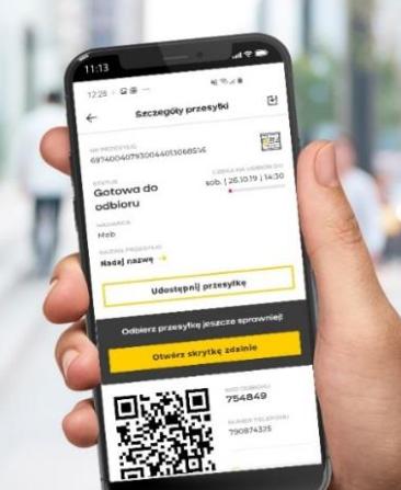 InPost planuje stawianie 100 nowych Paczkomatów tygodniowo - aplikacja na telefonie do odbioru paczek