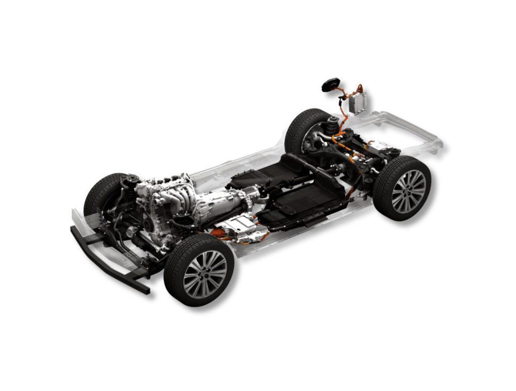 Mazda dąży do neutralności węglowej i bezpieczeństwa kierowcy - podzespoły samochodu Mazda