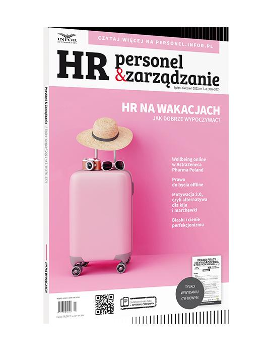 Z ojcem na pokładzie. Jak przygotować się na wdrożenie dyrektywy UE work-life balance w firmie? - okłądka magazynu HR Personel&Zarządzanie
